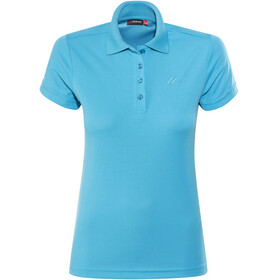 Maier Sports Ulrike - Camiseta manga corta Mujer - azul